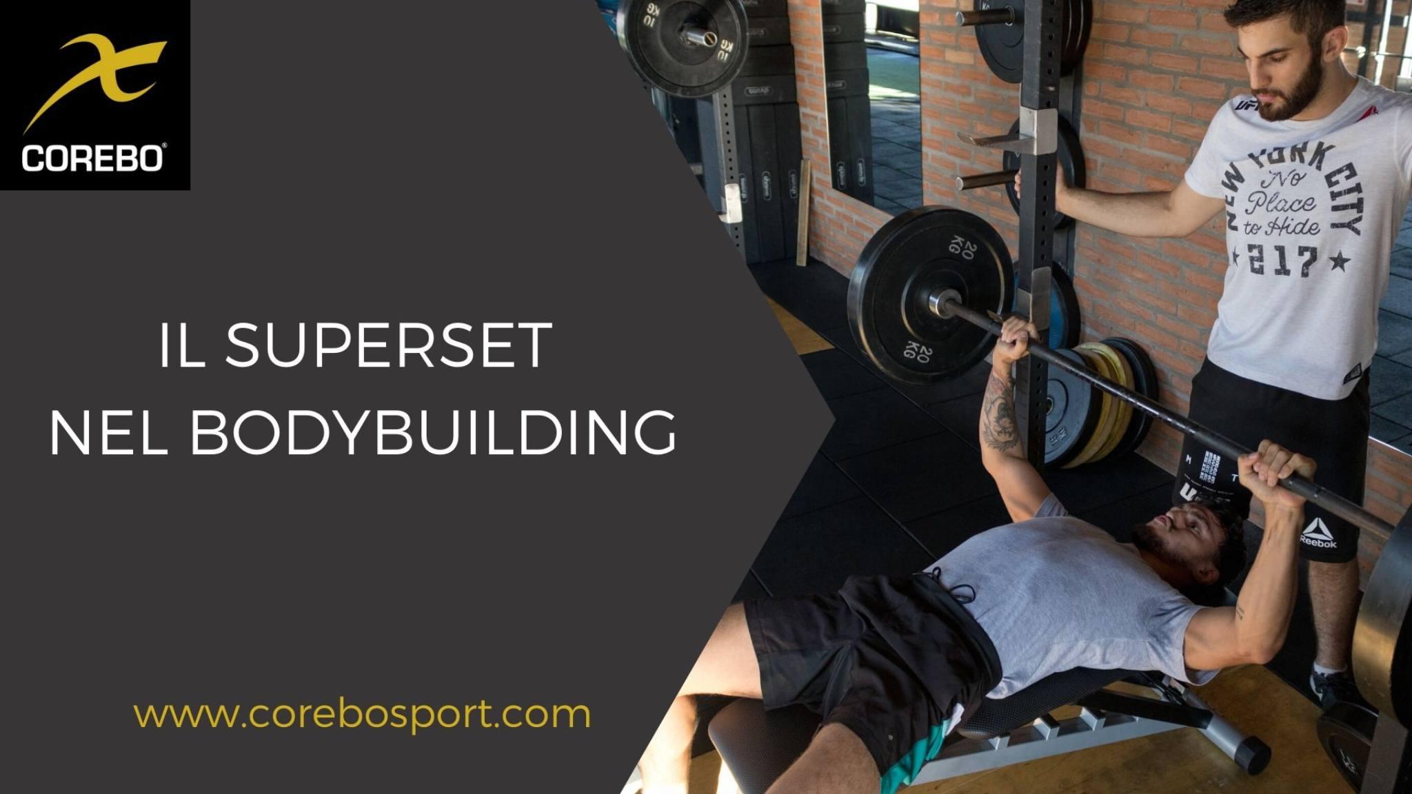 Il superset nel bodybuilding