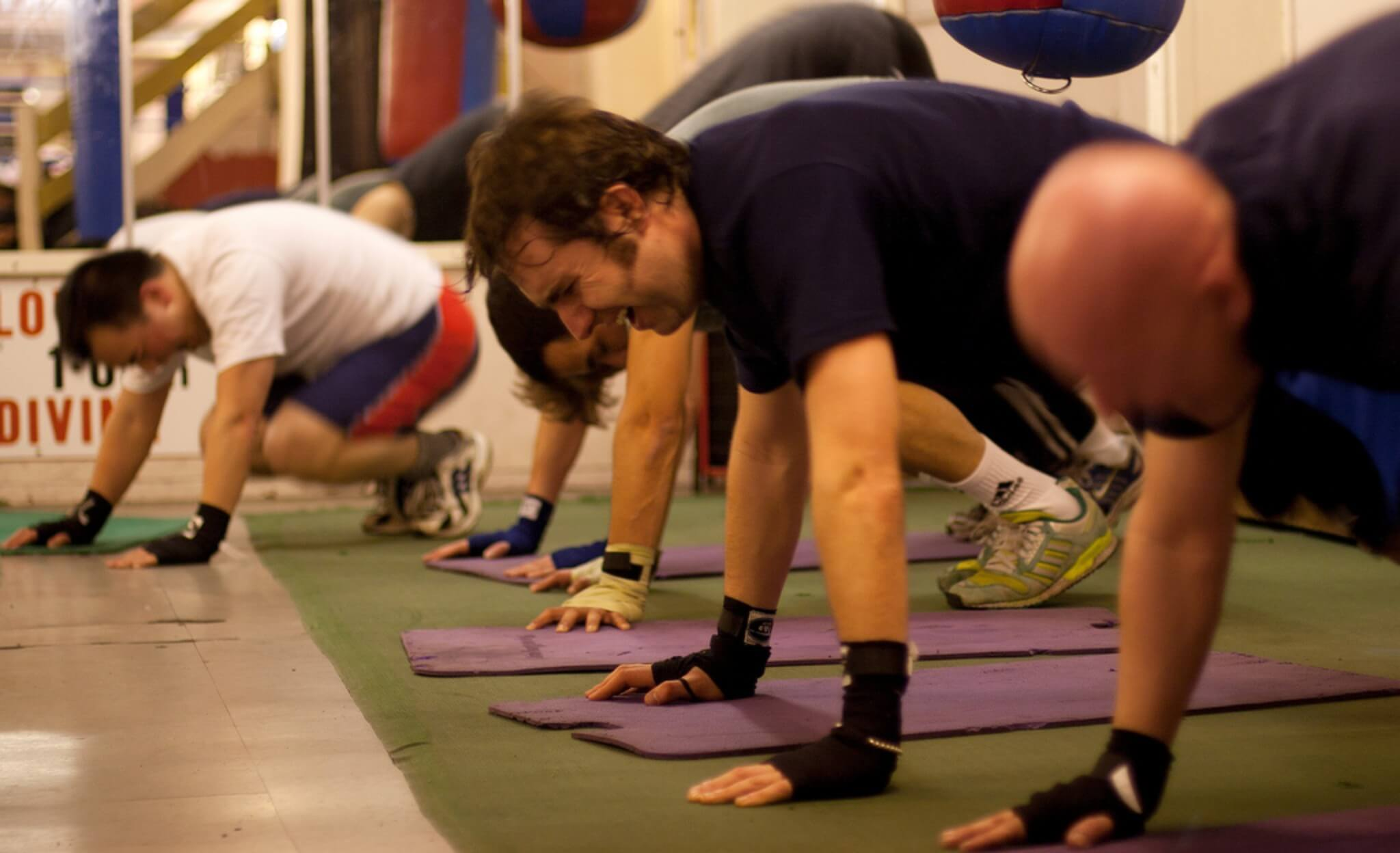 allenamento e recupero fisico