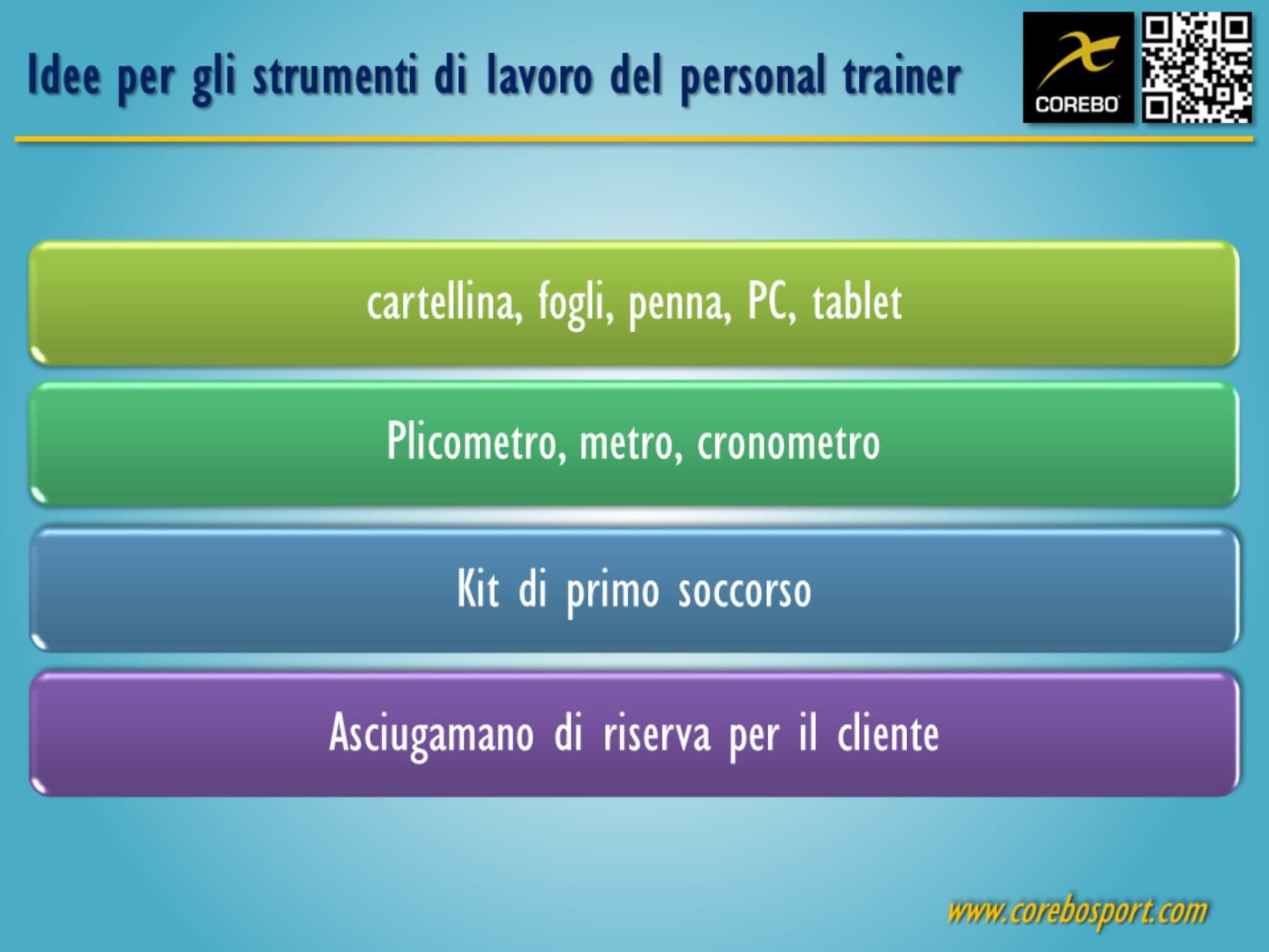 Il lavoro del personal trainer