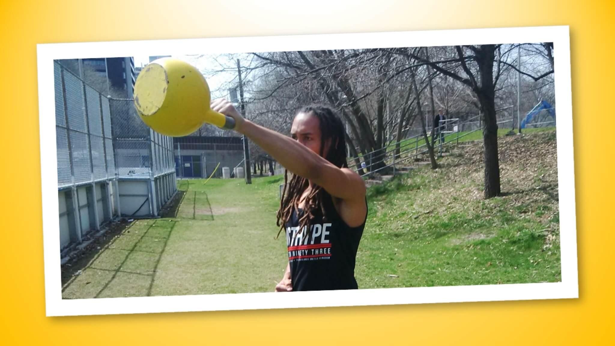 allenamento con i kettlebell