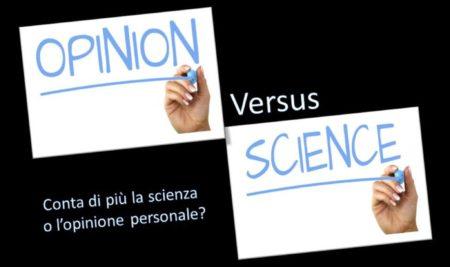 Opinione e scienza: quando le proprie convinzioni fanno perdere l'orientamento