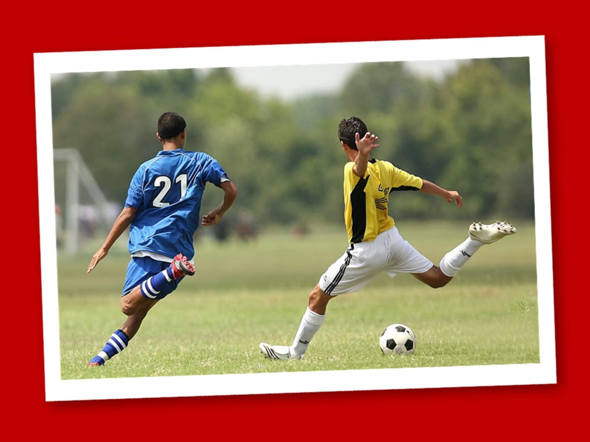 le accelerazioni nel calcio
