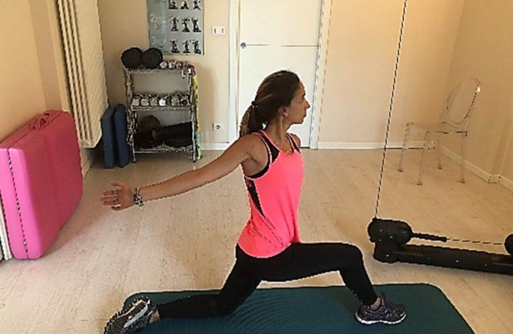 stretching del diaframma