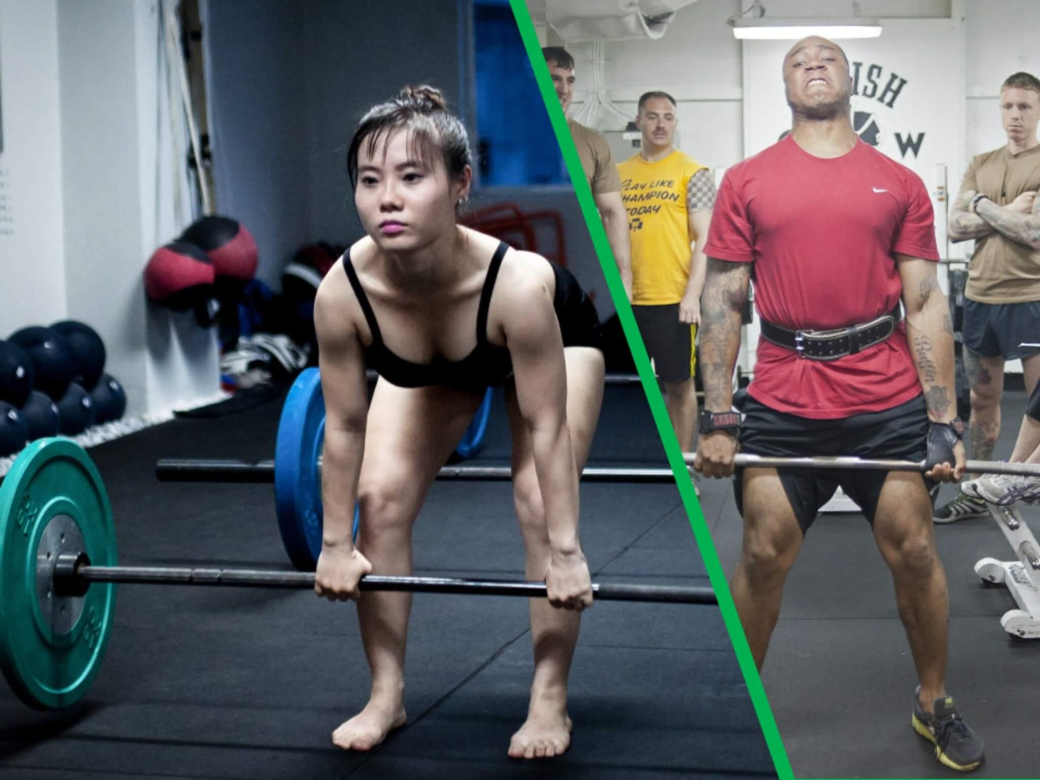 La scheda di powerlifting per l'allenamento di novembre