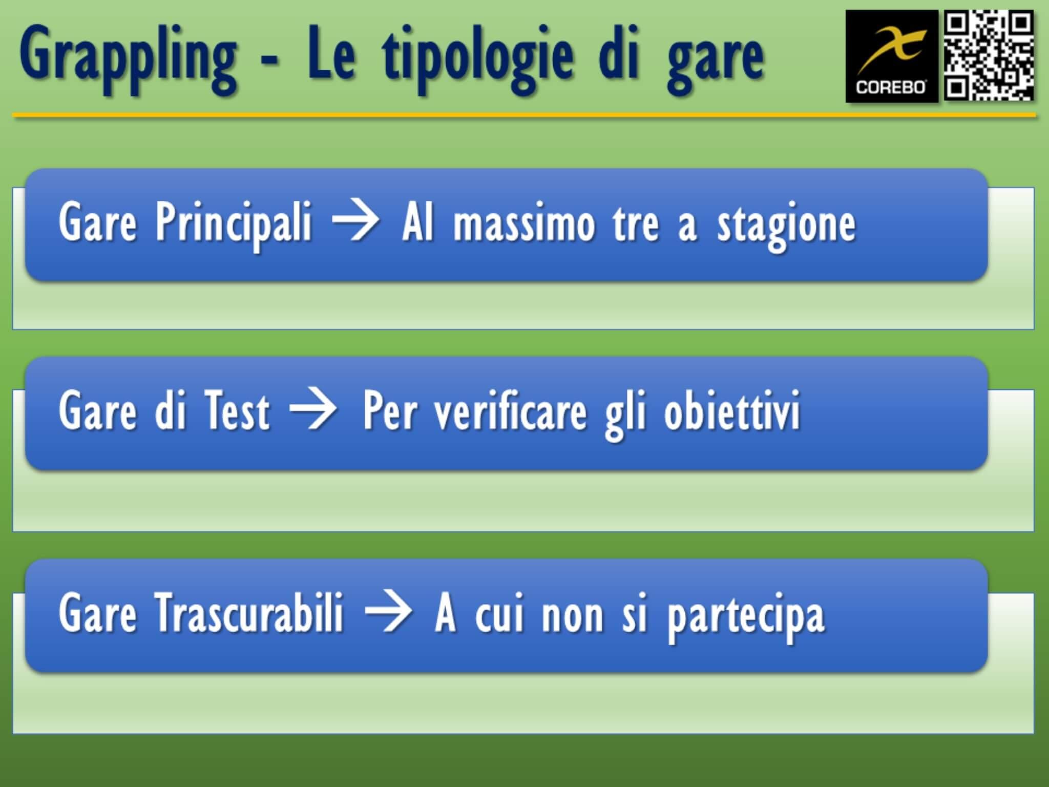 allenamento del grappling