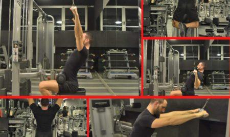 Esercizi per i Dorsali: i muscoli delle tirate dall'alto