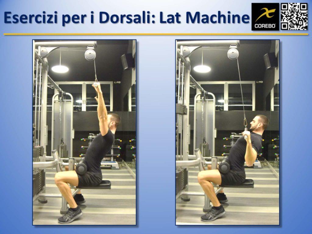 esercizi per i dorsali
