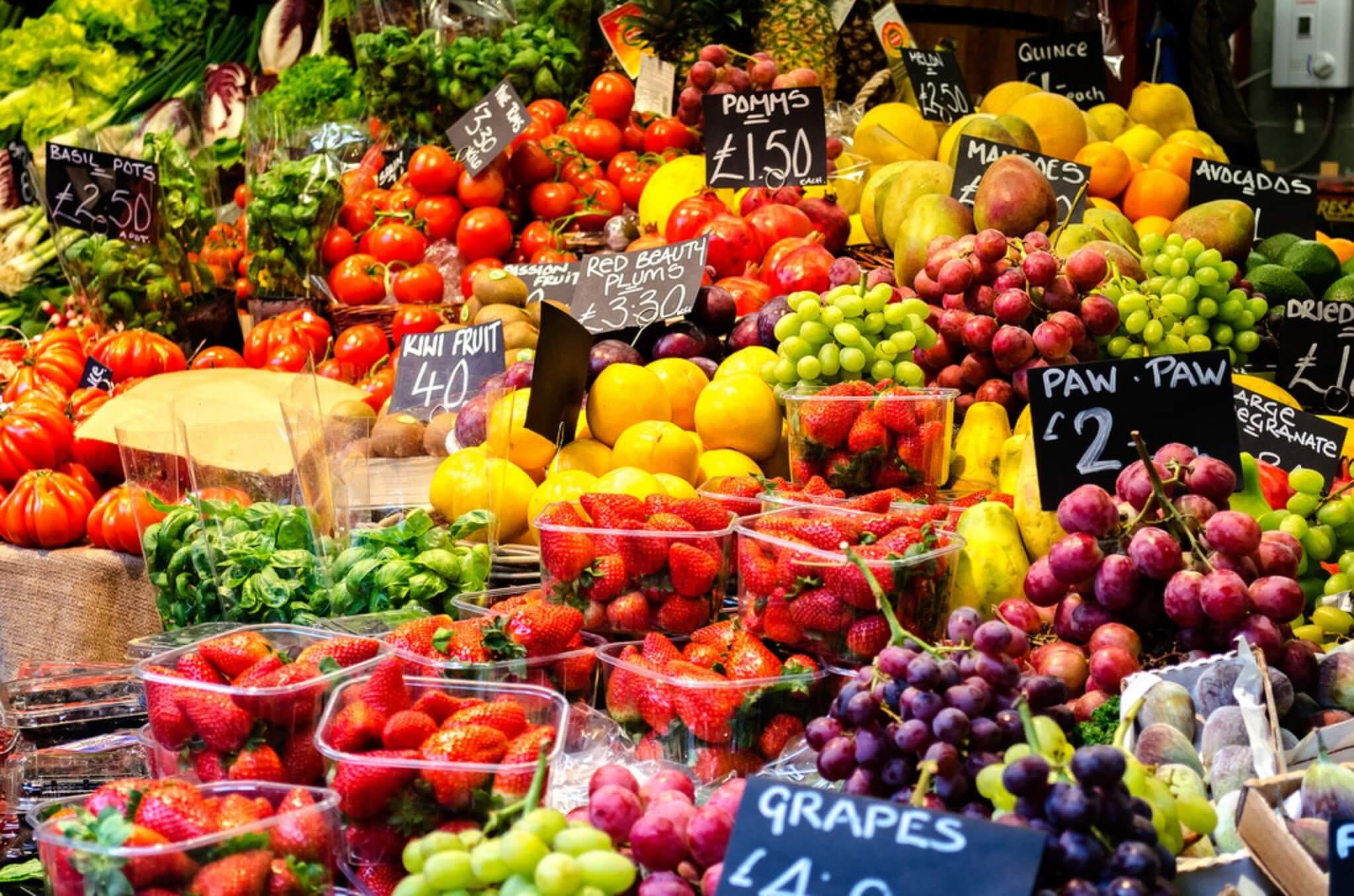 dimagrire mangiando frutta e verdura