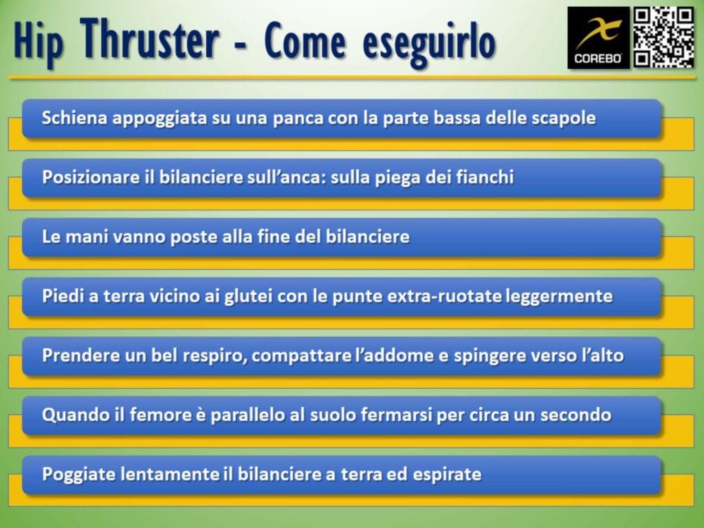 Come eseguire l'Hip Thruster