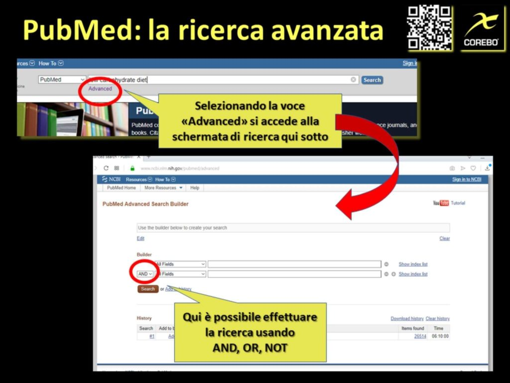 come usare PubMed e la ricerca avanzata