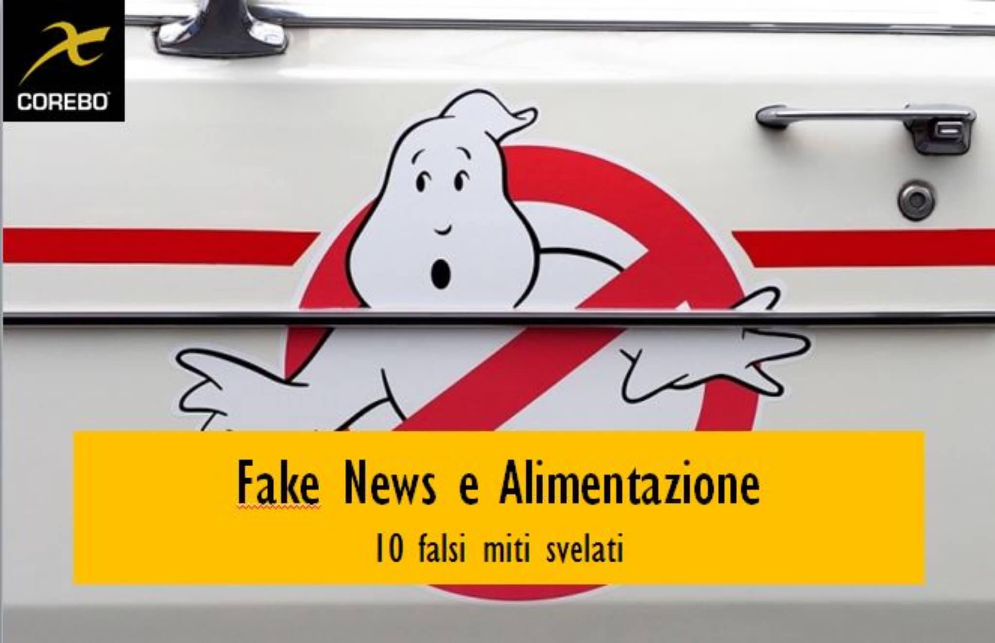 Fake news sull'alimentazione