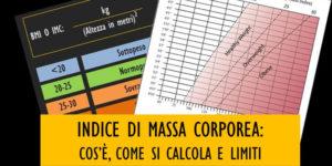 IMC o Indice di Massa Corporea: che cos'è e come si calcola?