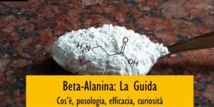 Beta-Alanina:  cos'è, posologia, effetti ed efficacia