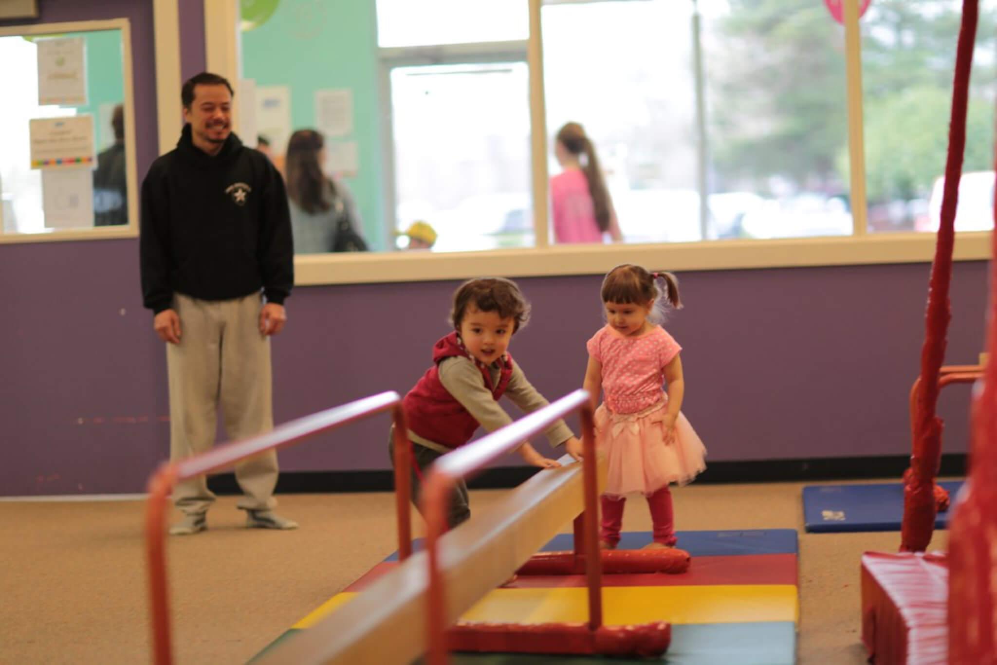 bambini e lavoro di strength training