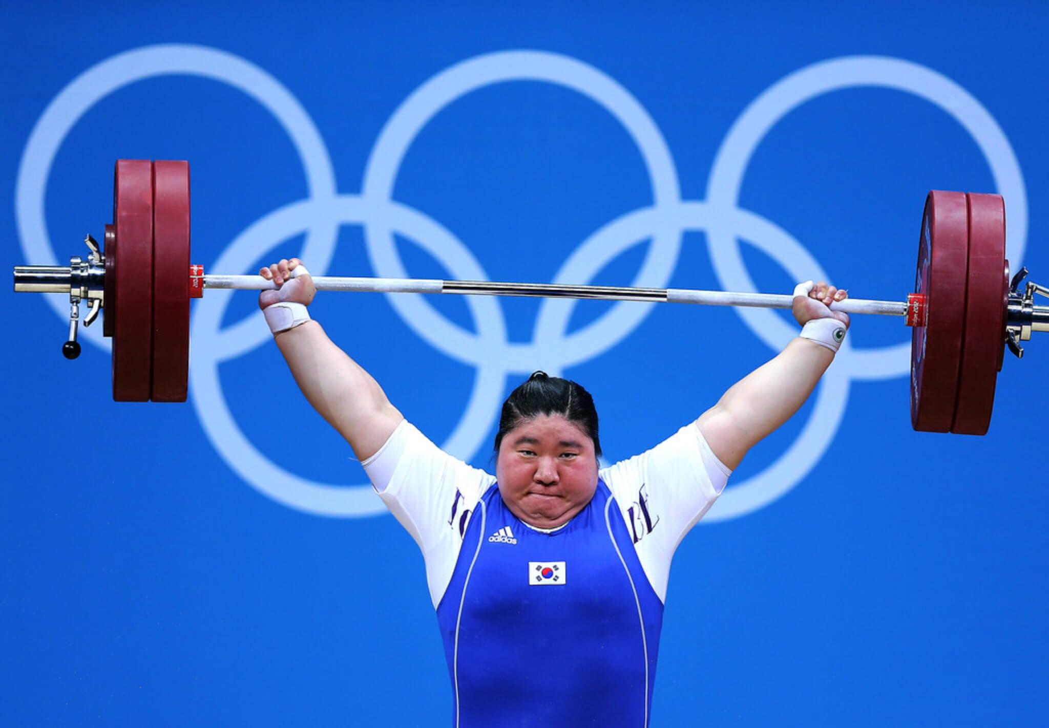 lo strappo nella pesistica olimpica