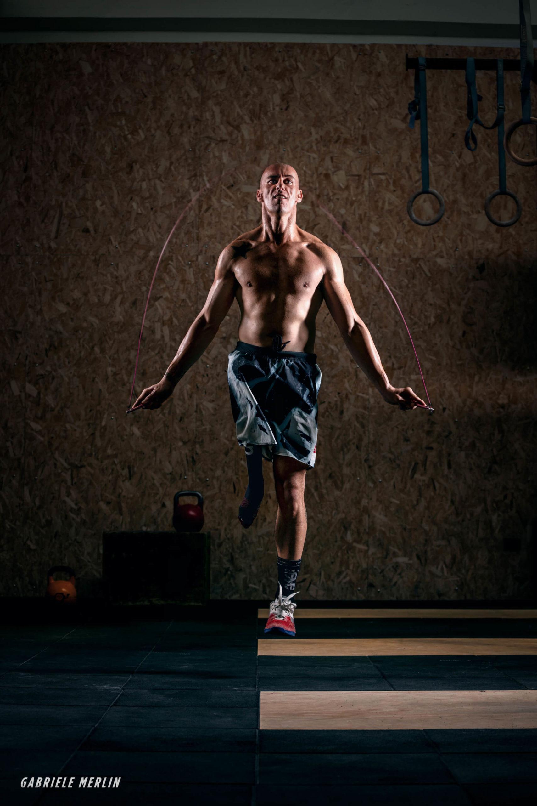 protesi di gamba ed esercizio fisico