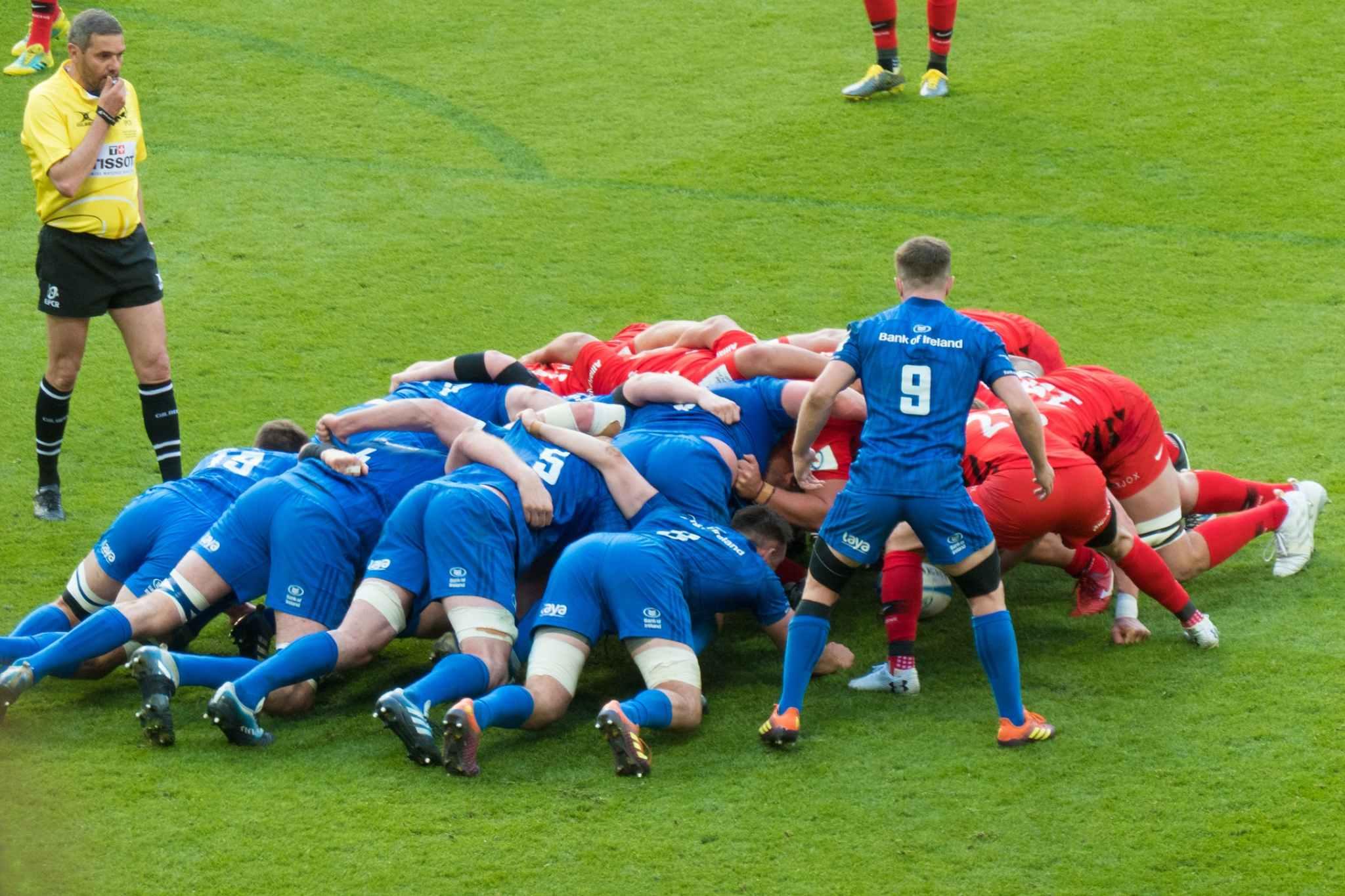 le regole del rugby e i ruoli