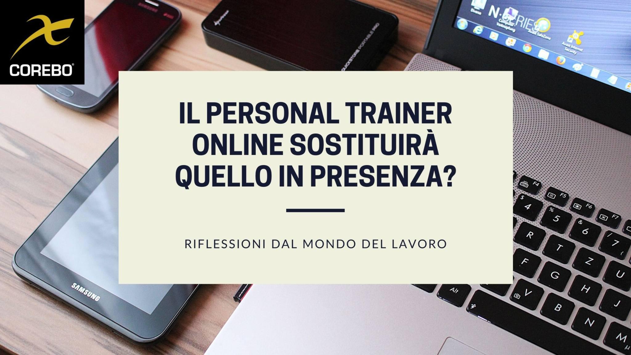 Il personal trainer online sostituirà quello in presenza