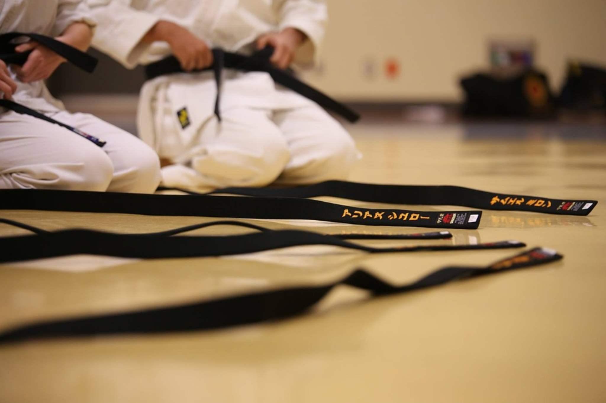 quante cinture nel karate