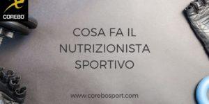 Cosa fa il nutrizionista sportivo: i servizi erogati