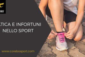 Fatica e infortuni nello sport – Corebo