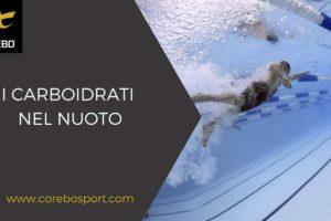 I carboidrati nel nuoto – Corebo