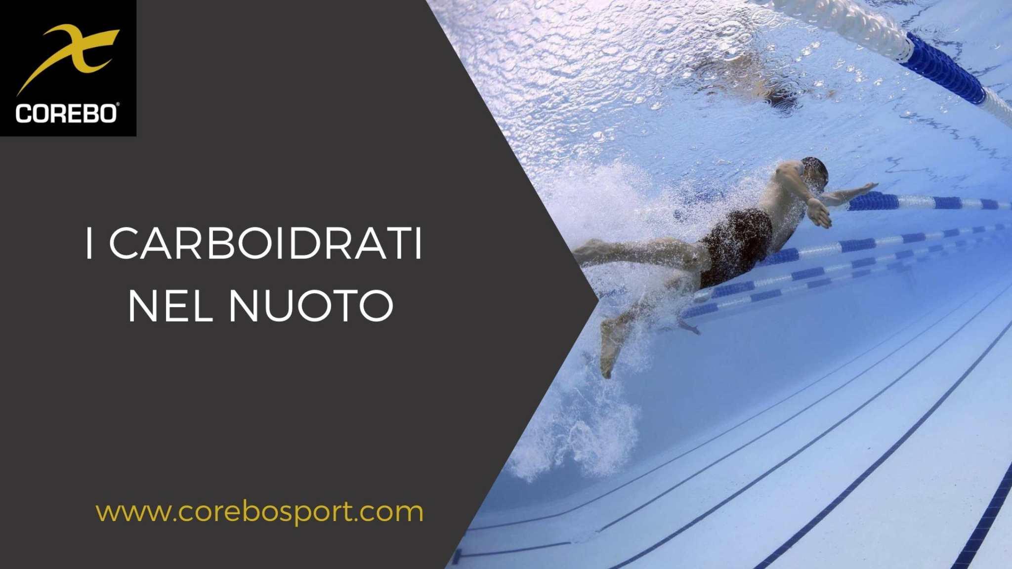 I carboidrati nel nuoto