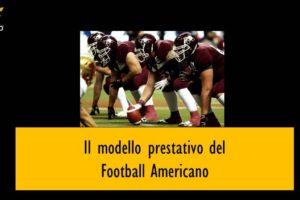Il modello prestativo del Football Americano – Corebo