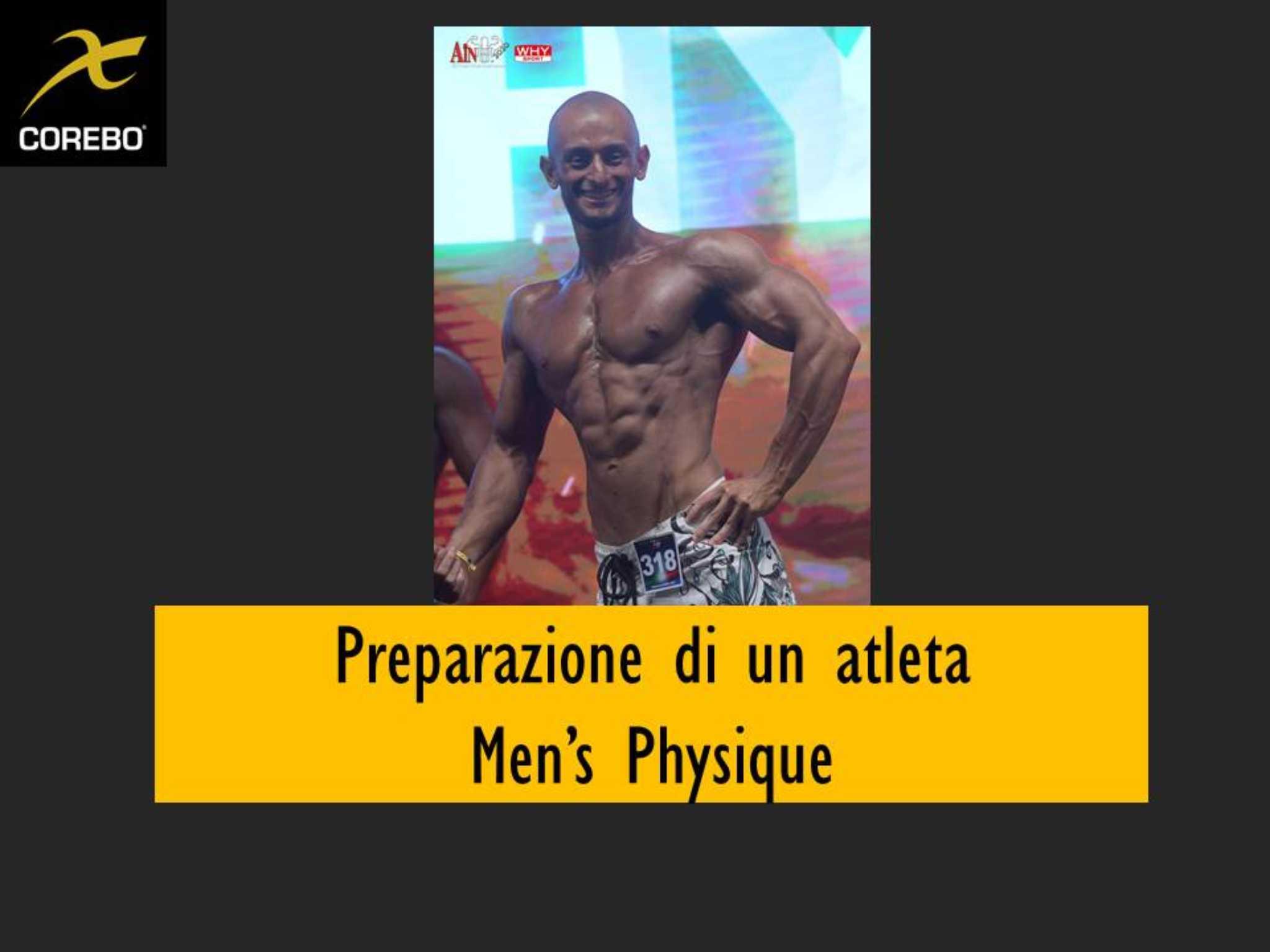 Preparazione di un atleta men's physique
