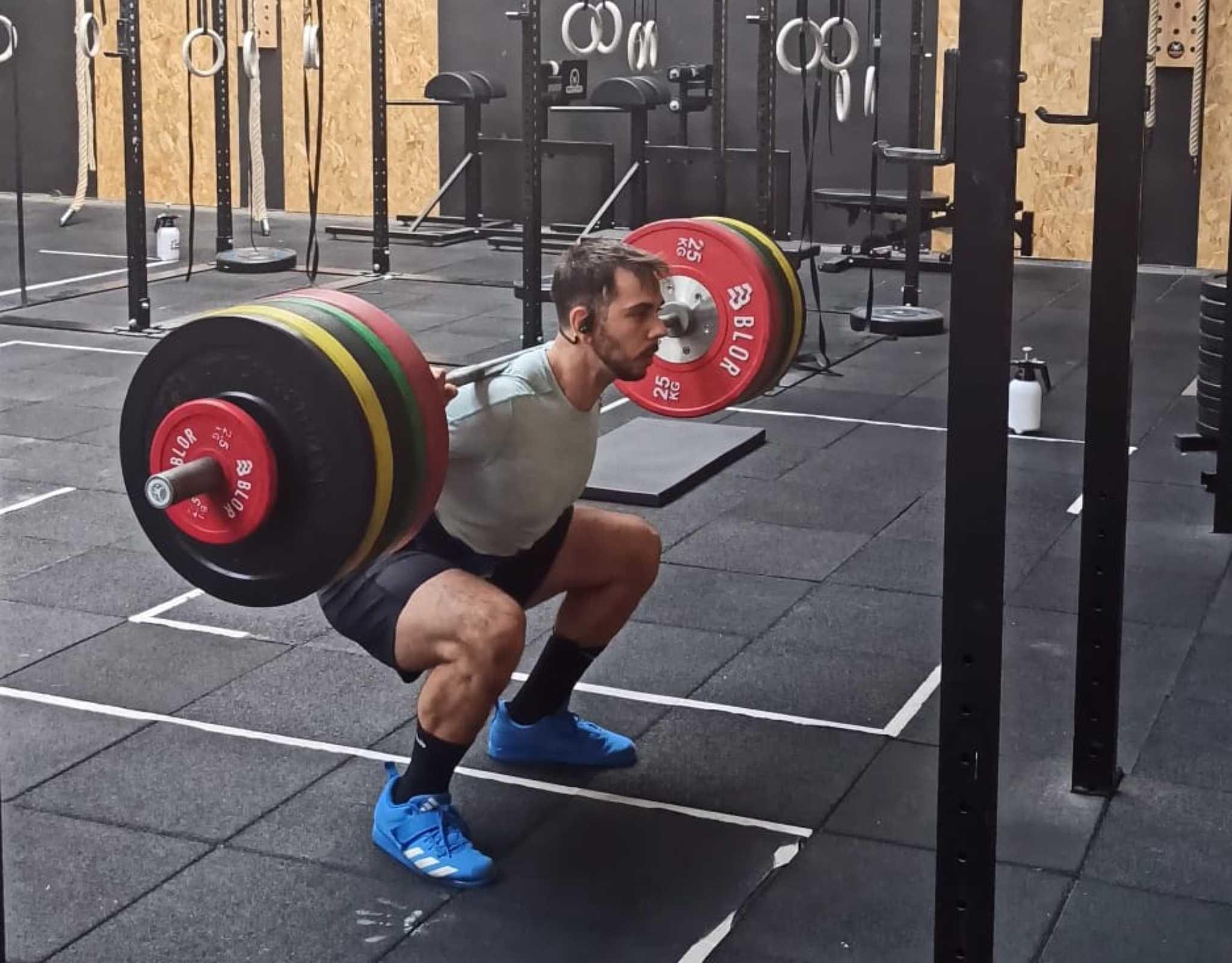 La tripla estensione nello squat