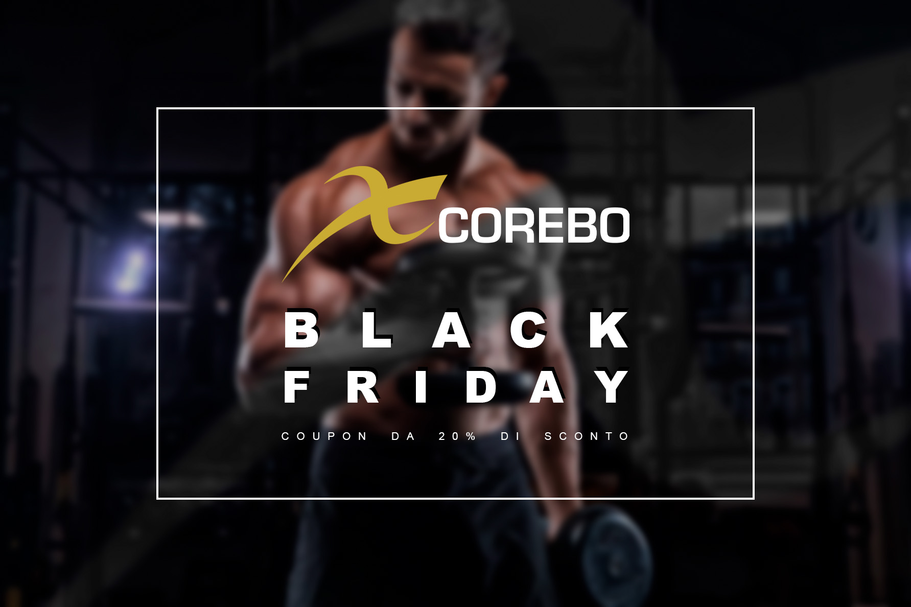 Video Corsi Fitness Black Friday