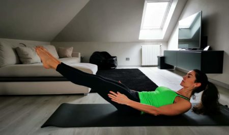 L'hundred del Pilates: esecuzione